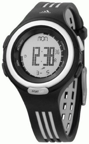 Adidas Women's RESPONSE ADP3027 Black Polyurethane Quartz Watch with Digital Dial
