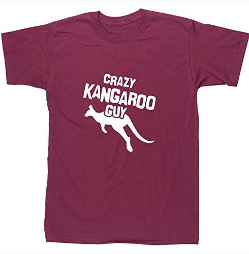 HippoWarehouse Herren T-Shirt Gr. L, kastanienbraun