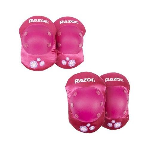 Razor Child Elbow and Knee Pad Set, Pink (Kids Knee Pads And Elbow Pads compare prices)