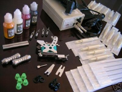 TWO FRAMES TATTOO MACHINE KITS