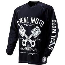 O'Neal Apocalypse Pistons Jersey Black/White Large