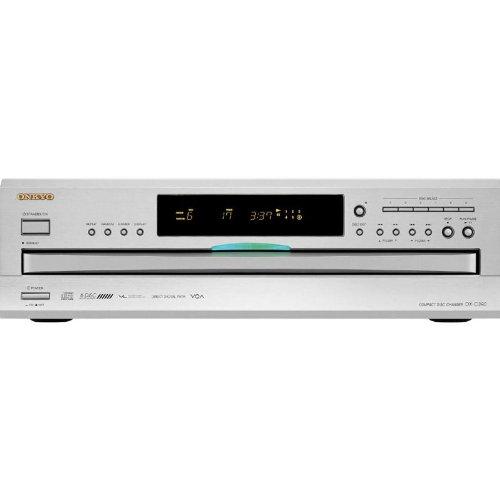 Onkyo DX-C390S 6 Disc CD Changer - Silver