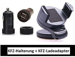 Universal KFZ Halterung für Smartphones PDA Navi Handy HALTER um 360° schwenkbar