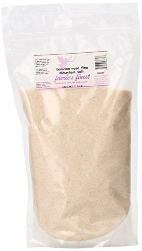 Faeries Finest Mountain Salt, Bolivian Rose, 2.00 Pound