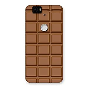 Special Chocolate Class Print Back Case Cover for Google Nexus-6P