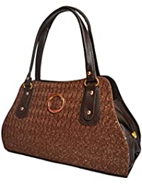 Hbos Ladies Handbag (Brown,bag 67)