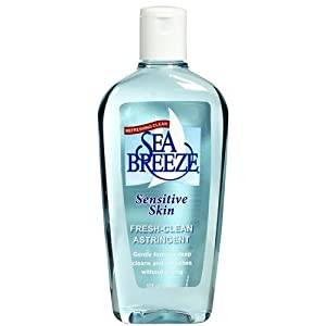 Sea Breeze Facial Astringent, Sensitive Formula, 10 Ounces brought to you by Seabreeze