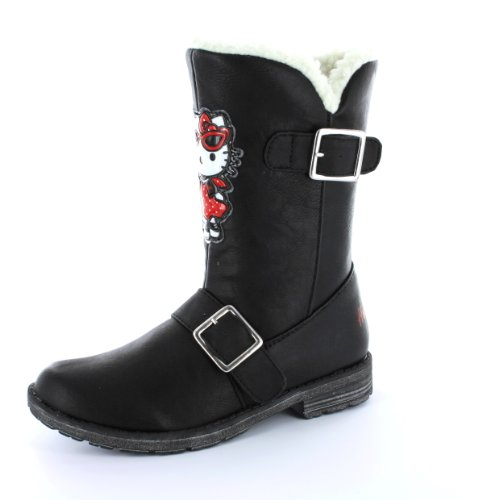 Girls Hello Kitty Winter Woolies Boots Sizes 8 - 1