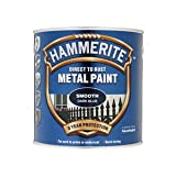 Hammerite SFDB25L 2.5L Direct to Rust Smooth Finish - Dark Blue
