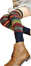 Springwell Womens Cable Knit Leg Warmers in Multiple Style