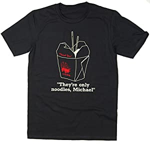 Balcony Shirts 'They're Only Noodles, Michael' Mens T Shirt
