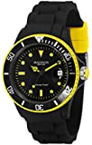 MADISON NEW YORK Unisex-Armbanduhr Candy Time Black Line Neon Analog Quarz Silikon U4485-41/1