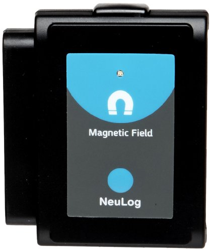 Neulog Magnetic Field Logger Sensor, 15 Bit Adc Resolution, 0.001 Mt Resolution front-346448
