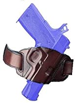 Galco Quick Slide Belt Holster, Black, Right Hand
