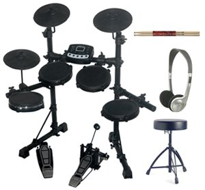Spur TD82 Digital Drum Kit Package Inc Stool, Sticks  &  Headphones EXCLUSIVE to Rimmers Music