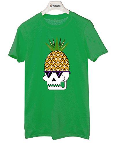 Tshirt Pineapple Skull - Teschio Ananas - Tutte le taglie by tshirteria