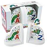 Hungry Caterpillar Wooden Book Ends - Nursery Accessories - Eric Carle - Hungry Caterpillar - Baby Gifts - Gifts