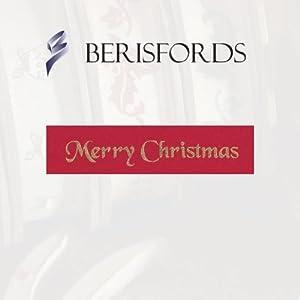 Classic Red 'Merry Christmas' shiny ribbon 10mm - BebeHogar.com