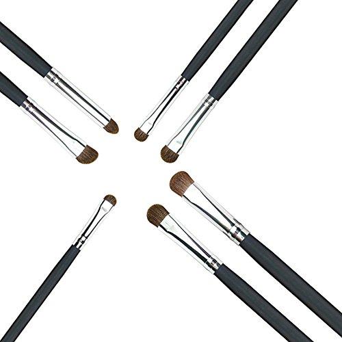 Imported-Black-Silver-Goat-Hair-Eyeshadow-Brushes-Eye-Blending-Brush-Makeup-Set