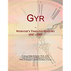 Amazon.com: Gyr: Webster's Timeline History, 1547 - 2007: Icon ...