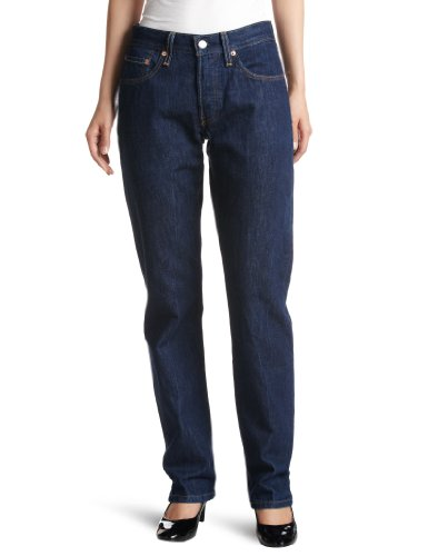 (リーバイス)Levi's 501 LEVI'S ORIGINAL FIT FOR WOMEN GLOSSE 12501-0167  グロスドインディゴ 24