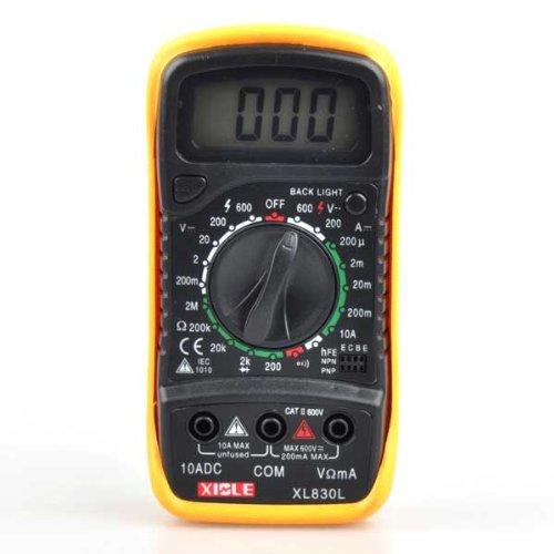Neewer® Digital Lcd Multimeter(Xl-830L) Voltmeter Ammeter Ohmmeter Ohm Volt Ac Dc Tester
