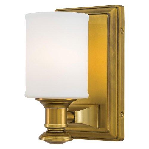 Minka Lavery 5171-249, Harbour Point, 1 Light Bath Fixture, Liberty Gold