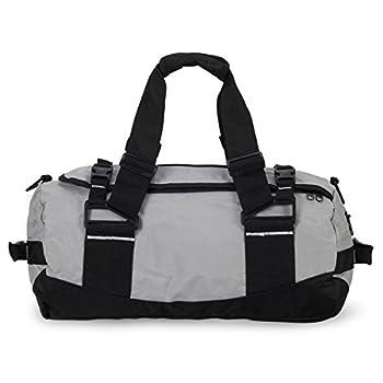 Hynes Eagle Gray Sports Duffel Cross Body Bag Casual Gym Bags