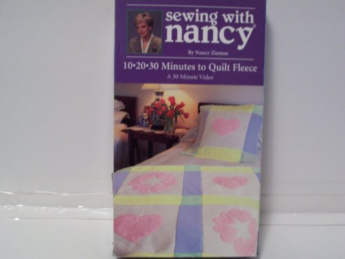 Sewing with Nancy: 10 20 30 Minutes to Quilt Fleece