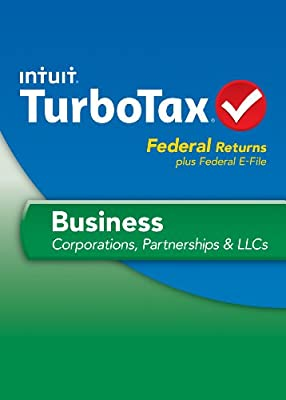 TurboTax Business Fed and Efile 2013