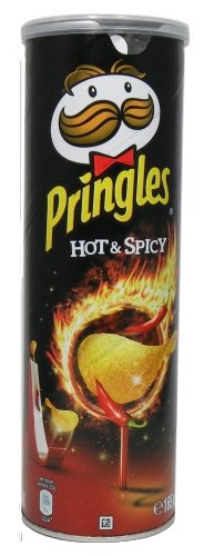 Pringles Chips Hot&Spicy - 1 x 165 g