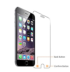 Design Labs Tempered Screen Guard for Apple iPhone 6 Plus/6S Plus (Transparent)