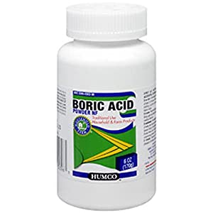 BORIC ACID POWDER HUMCO 6 OZ [Health and Beauty]