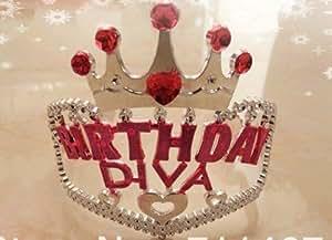 Funcart Birthday Diva Tiara