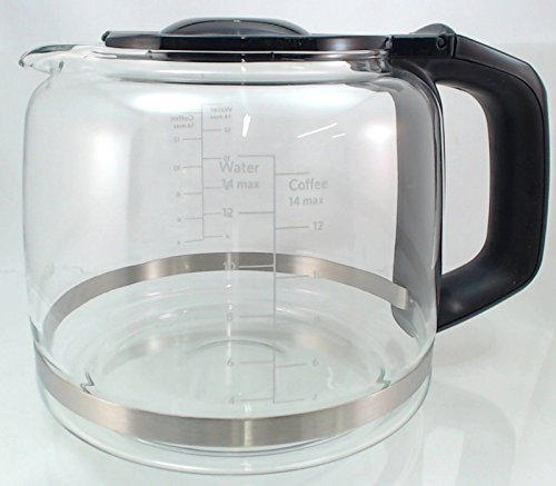Kitchenaid Coffee Maker Replacement Carafe : KitchenAid 14 cup Coffee Maker Glass Carafe, Models: KCM222 / 223, KCM22GC Whirlpool Kitchenup