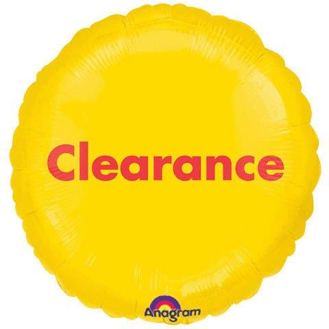 """18"""" Clearance P.o.p."""