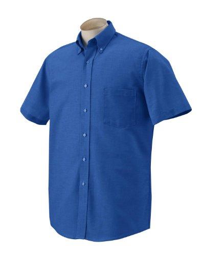 Van-Heusen-56850-Men-S-Sleeve-Oxford-English-Blue-4XL
