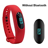 "YAMAY® Waterproof IP64 Smartband with 0.49"" OLED Touch Button Water Resistance Smart Wrist Band Bracelet Wristband for Running Fitness Health Sport Activity Tracker Pedometer Calorie Sleeping Monitor"