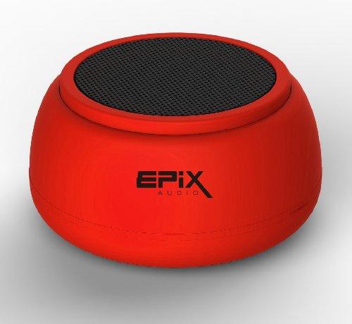 Epix Audio Superloud Wireless Portable Bluetooth Speaker (Red)