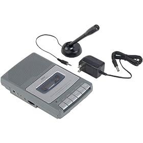 Rca Rp3504 Cassette Shoebox Voice Recorder (Voice Recorders / Portable & Personal Audio)