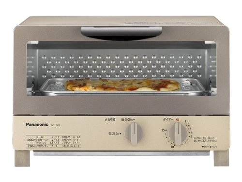 Panasonic オーブントースター シャンパンゴールド NT-C20-N