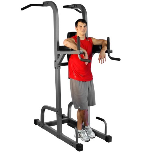 XMark Commercial VKR Vertical Knee Raise With Dip And Pull Up Station Power Tower XM 7617 $497.16
