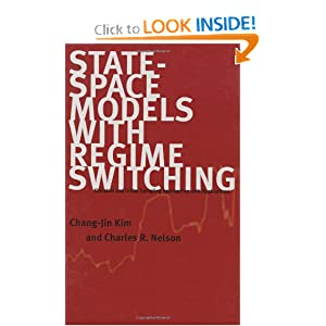 State-Space Models with Regime Switching: Classical and Gibbs-Sampling Approaches with Applications Chang-Jin Kim and Charles R. Nelson