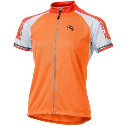 Buy Low Price Giordana Silverline Women's Short Sleeve Jersey Orange, M (GI-WSSJ-SILV-ORAN-03)