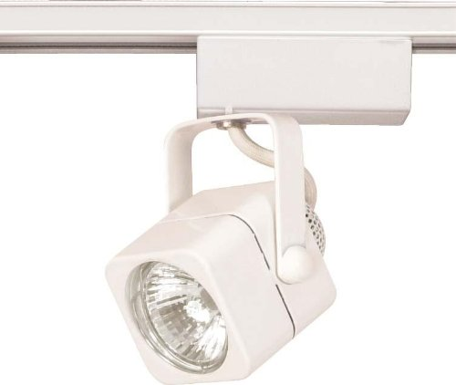 Nuvo TH232 12V Mr16 Square Track Head, White