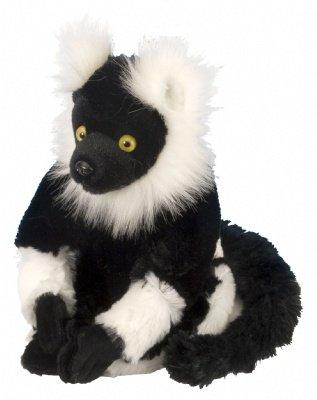 "Wild Republic CK-Mini B and W Lemur 8"" Plush - 1"