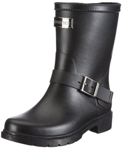 Hunter Women's Shoreditch Ladies Black Wellington Boot W24155 6 UK