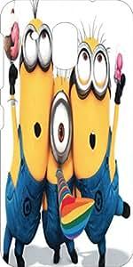 Koolbug Printed Hard Back Case Cover For HTC Desire 526G Plus