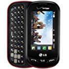 Verizon LG Extravert No Contract QWERTY 2MP Camera Touchscreen Cell Phone - For Verizon Postpaid Plans