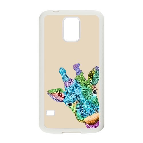 Nymeria 19 Customized Giraffe Diy Design For Samsung Galaxy S5 Hard Back Cover Case De-22